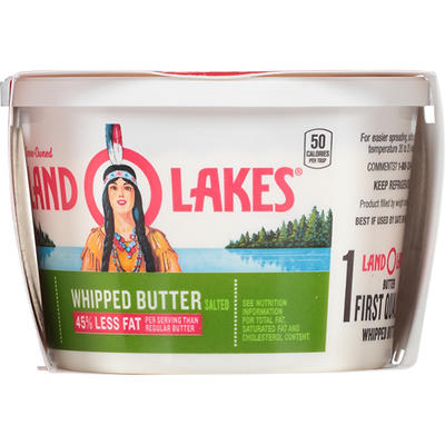 Land O'Lakes Salted Whipped Butter, 3 pk./8 oz.