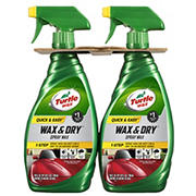 Turtle Wax 26-Oz. Quick and Easy Wax and Dry Spray, 2 pk.