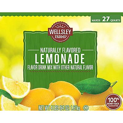 Wellsley Farms Lemonade Mix, 2 pk./64 oz.