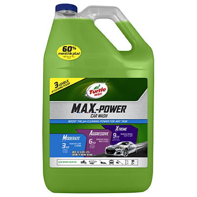 Turtle Wax Max Power Car Wash, 160 oz.