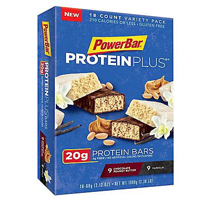 PowerBar Protein Plus, 18 ct.