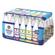 Wellsley Farms Seltzer Variety Pack, 24 ct./20 oz.