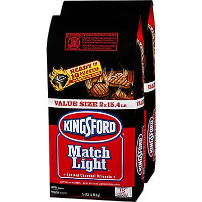 Kingsford Matchlight Charcoal Briquettes, 15.4 lbs./2 pk.