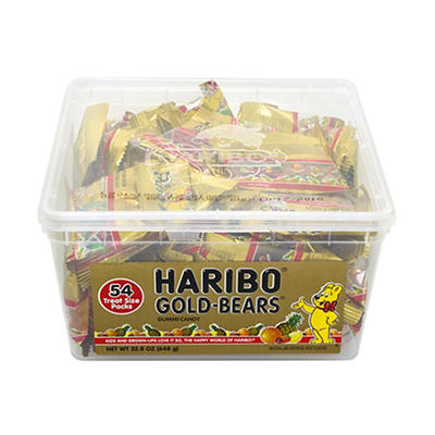 Haribo Gold-Bears, 54 ct./0.4 oz.