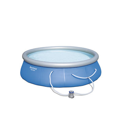 """Bestway Fast-Set 12' x 36"""" Aboveground Pool with Filter"""