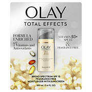 Olay Total Effects 7-in-1 Anti-Aging Moisturizer SPF 15 Fragrance-Free, 3.4 fl oz.