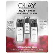 Olay Regenerist Regenerating Serum, 2 pk./1.7 fl. oz. with Bonus Travel Size Bottle, 0.5 fl. oz.