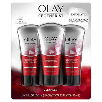 Olay Regenerist Regenerating Cream Cleanser, 3 pk./5 fl. oz.