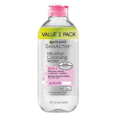 Garnier SkinActive Micellar Cleansing Water, 2 pk./13.5 fl. oz.