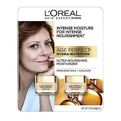 L'Oreal Age Perfect Hydra-Nutrition's Day Cream, 2 pk./3.4 oz.