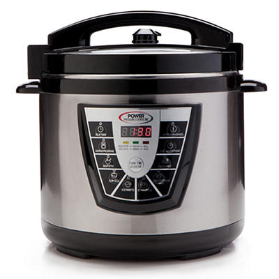 Power 6-Qt. Pressure Cooker XL