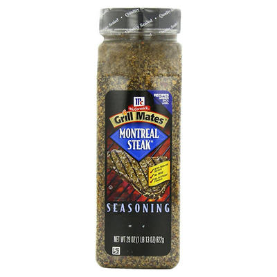 McCormick Grill Mates Montreal Steak Seasoning, 29 oz.