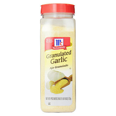 McCormick Granulated Garlic, 26 oz.