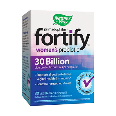 Fortify Women's Probiotic Capsules, 80 ct.