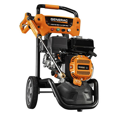Generac 3100psi Gas-powered Pressure Washer with PowerDial Gun