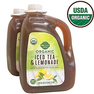 Wellsley Farms Organic Tea & Lemonade, 2 ct./1 gal.
