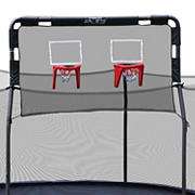 Skywalker Trampolines 12' Double Basketball Hoop - Black