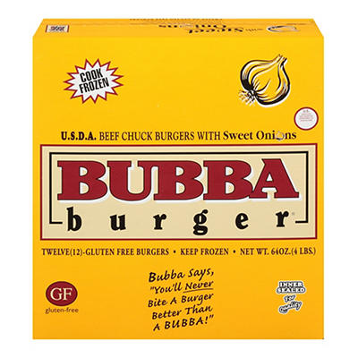 BUBBA Burger with Sweet Onions, 12 pk./5.3 oz.