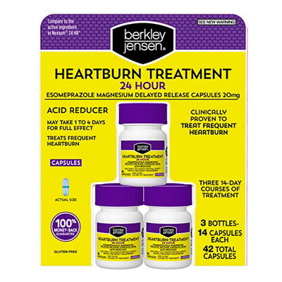 Berkley Jensen Heartburn Treatment, 3 pk./14 ct.