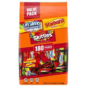 Skittles, Starburst and Life Savers Fun Size Variety Pack, 180 ct.