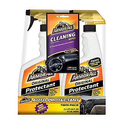 Armor All 16 Fl. Oz. Original Protectant Spray with Bonus Cleaning Wip