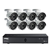 Lorex 8-Channel 8-Camera 4MP Super HD Security System with 2TB HDD DVR