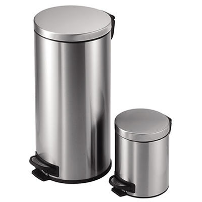 JoyWare 30L and 5L Round Trash Can Set