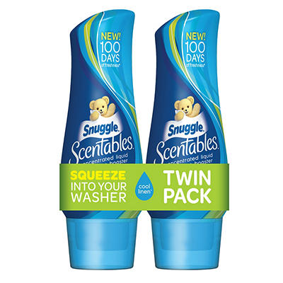 Snuggle Scentables Concentrated Liquid Booster, 2 ct./19.1 oz.