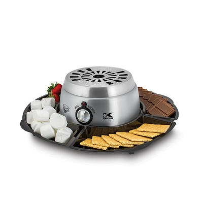 Kalorik 2-in-1 S'mores Maker with Chocolate Fondue - Stainless Steel