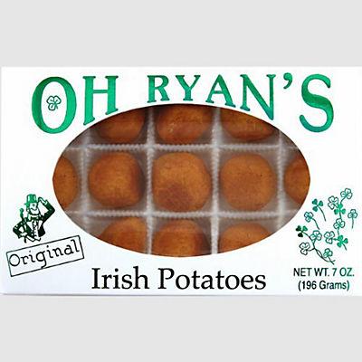 Oh Ryan's Irish Potatoes, Cinnamon Coconut Cream Filled Candy, 2 pk./7
