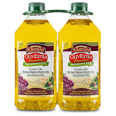 Pompeian OlivExtra Premium Mediterranean Blend Oil 2 pk./2L