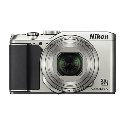 Nikon COOLPIX A900 20MP 35x Zoom Wi-Fi Digital Camera - Silver