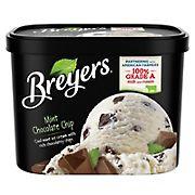 Breyers Mint Chocolate Chip, 64 oz.