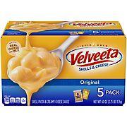 Kraft Velveeta Shells & Cheese, 5 pk./12 oz.