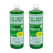 Robelle 4-in-1 Water Treatment, 2 pk./1 qt.