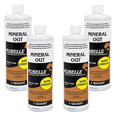 Robelle Mineral Out, 4 pk./1 qt.