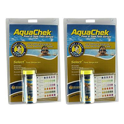 AquaChek Select 7-Way Test Strip Kit, 2 pk./50 ct.