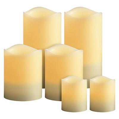 Veraflame TrueFlame 6-Pc. Flameless Candle Set