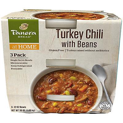 Panera Turkey Chili, 3 ct./12 oz.