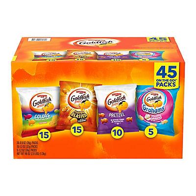 Goldfish Variety Pack, 45 ct.