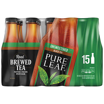 Pure Leaf Unsweetened Tea, 15 ct./18.5 fl. oz.
