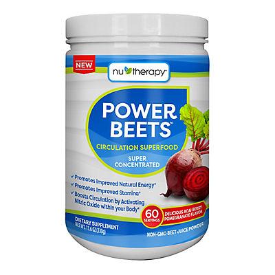 Nu-Therapy Power Beets Juice Powder, 11.6 oz.