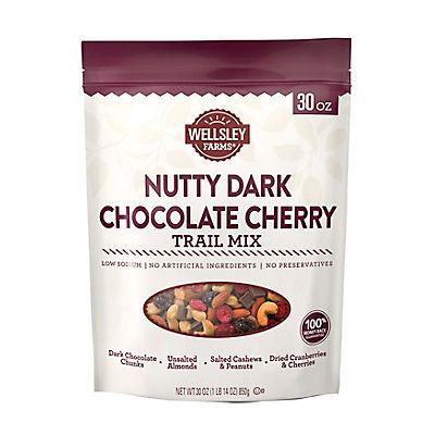 Wellsley Farms Nutty Dark Chocolate Cherry Trail Mix, 30 oz.