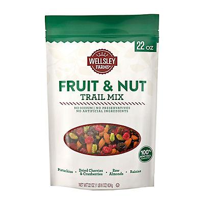 Wellsley Farms Fruit & Nut Trail Mix, 22 oz.
