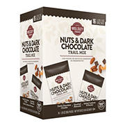 Wellsley Farms Nuts & Dark Chocolate Trail Mix, 16 pk./1.25 oz.