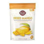 Wellsley Farms Dried Mango, 30 oz.