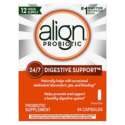 Align Probiotic Supplement Capsules, 2 pk./42 ct.