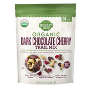 Wellsley Farms Organic Dark Chocolate Cherry Trail Mix, 24 oz.