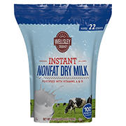 Wellsley Farms Nonfat Dry Milk, 70.4 oz.