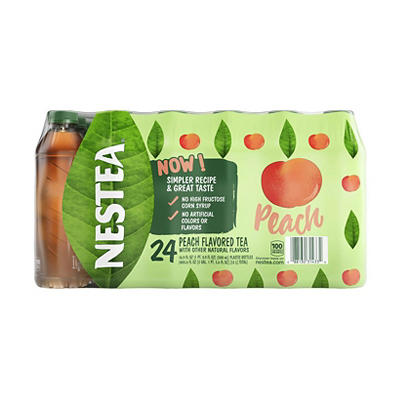 Nestea Peach Flavored Iced Tea, 24 ct./16.9 fl. oz.
